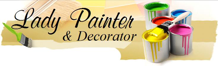 Services lady painter professional painter decorator for Professional decorator